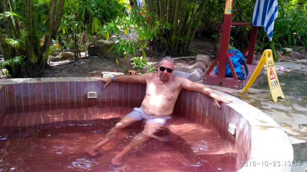 Источники Саньи ванна с красным вином