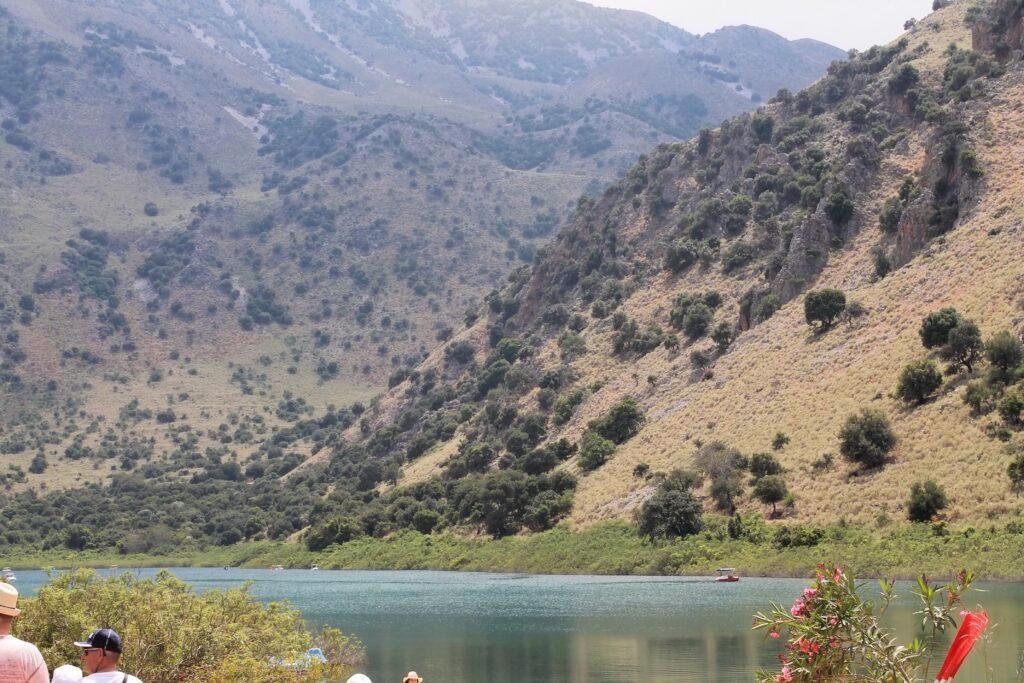 озеро курнас Греция