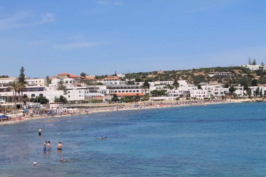 пляж херсониссос фото