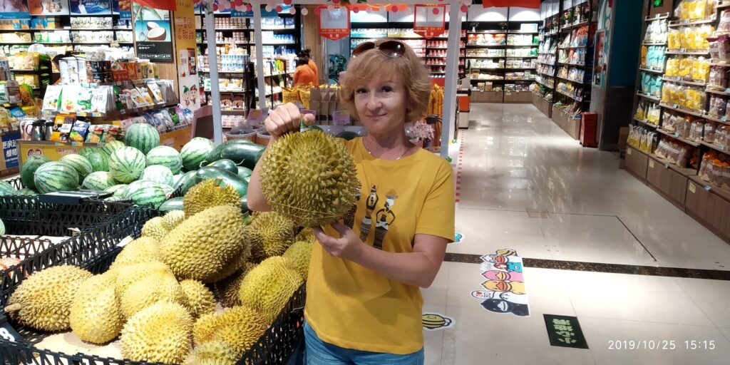 фрукты дуриан