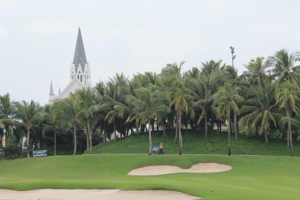 европейский квартал поле для гольфа