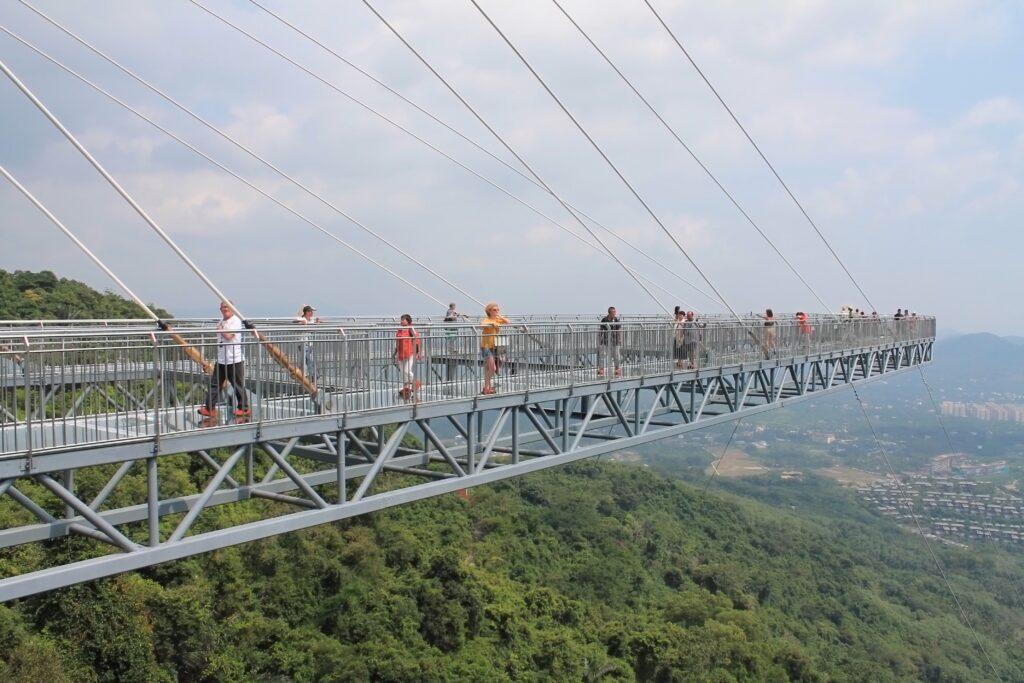 фото стеклянный мост