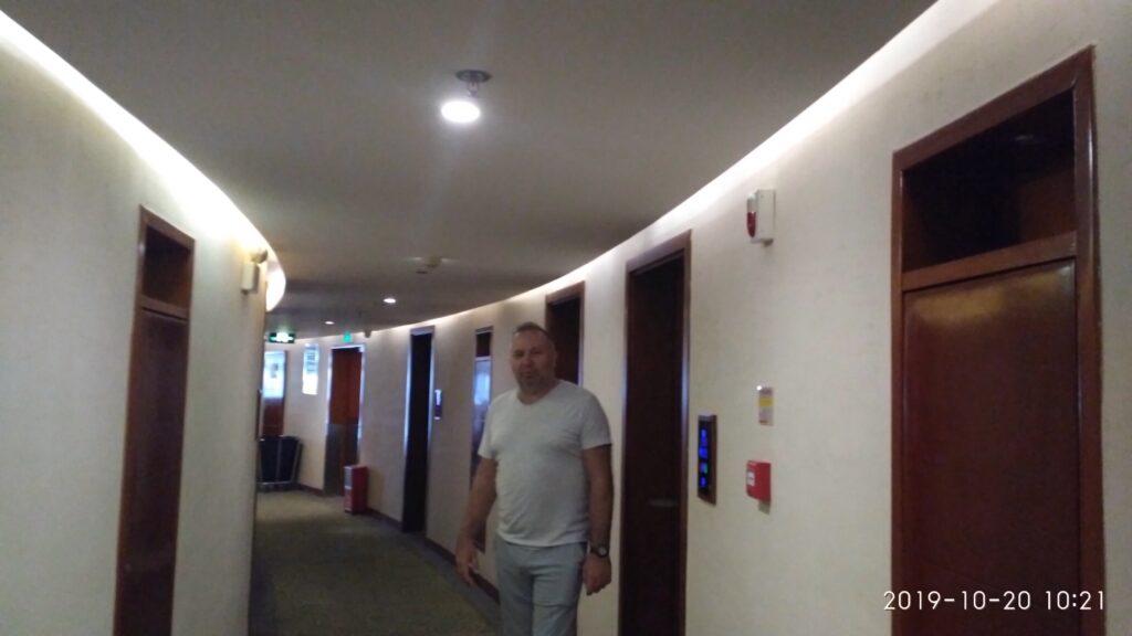 отель Hyton коридор